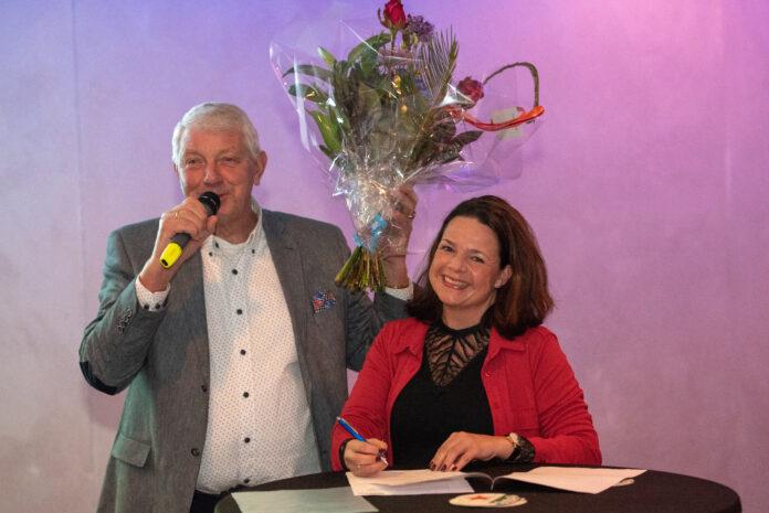 Yvette Zoet en Cor de Jong, sponsor