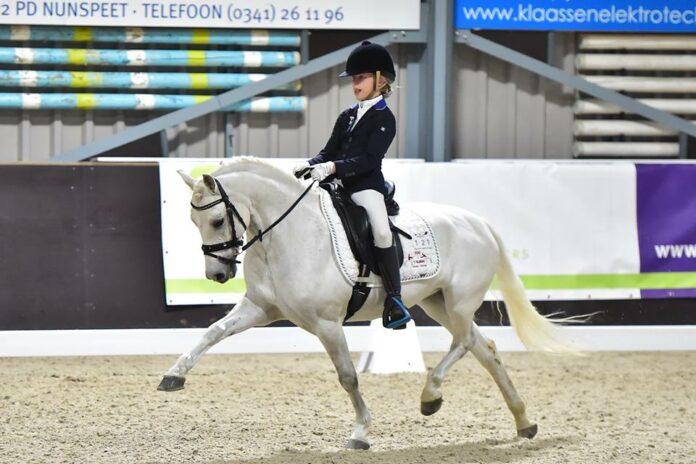 Esmee Boers en Roosendaal's Miracle. Foto Wilma Frentz
