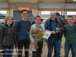Familie Dijkstra van Stal Oldenzijl Fokker van het Jaar 2018