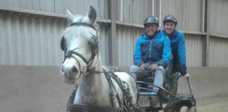 Wim en Brian van Bruggen met Kompas Esmee.