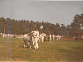 nostalgie, saskia op NMK 1976