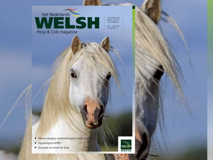 Cover Welsh Pony en cob Magazine 2 -april 2020