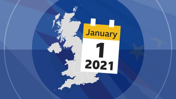 brexit transport vanaf 1 januari 2021