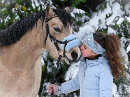 Winterselfie: Dounia Benamar met Zomerdijks Viviana