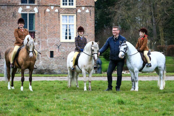 Familie Zoet (Ysselvliedt Welsh Pony's). Foto: Wil Smeets