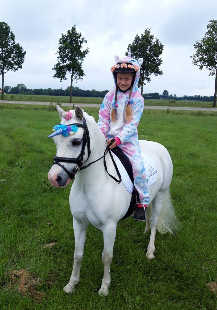 Silverbell en Froukje Unicorn