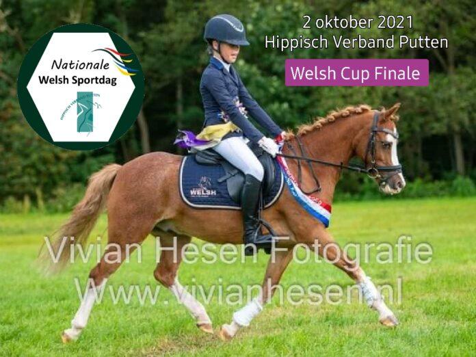 Welsh Cup Finale 2021 - Pleun Sloof met Taggerty